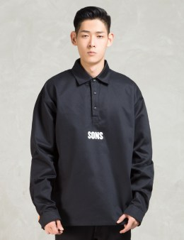 SONS Black Overshirt Picture