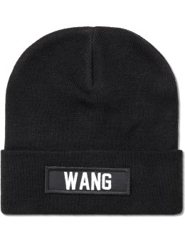 LES (ART)ISTS Black Wang Patch Beanie Picture