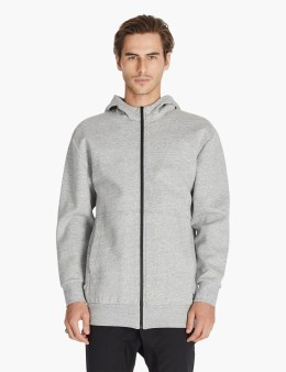 ZANEROBE Grey Foam Long Hoodies Picture