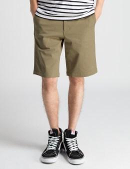 HUF Khaki Twill Walk Shorts Picture