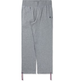 UNDEFEATED Heather Grey Double Knit Pants II Picture