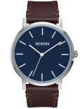 Nixon Porter Leather with Navy Dial Picture