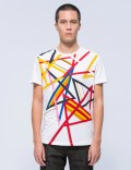 ICEBERG Multi Color Lines S/S T-Shirt Picture