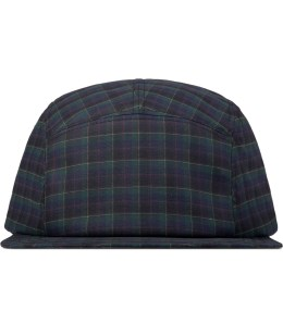 Larose Burgundy Check 5-Panel Cap Picture