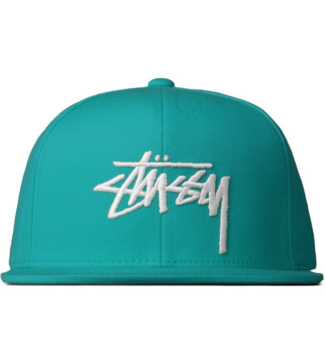 Stussy Turquoise Stock Hawaii Cap