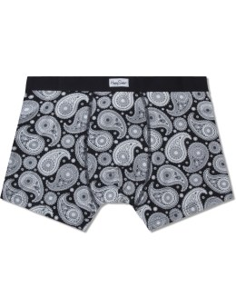 Happy Socks Black Paisley Boxers Picture