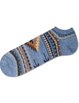 CHUP Light Blue Rejilla Socks Picture