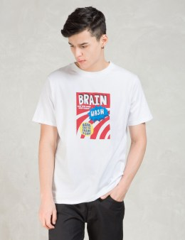 LAZY OAF White Brain Wash T-Shirt Picture