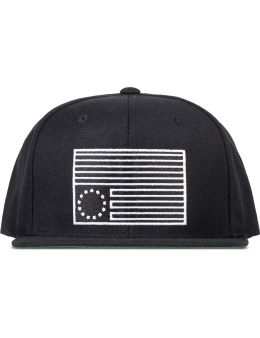 Black Scale Dark Rebel Snapback Caps Picture