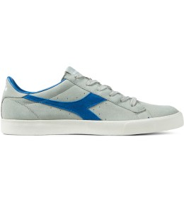 DIADORA Putty/Blue Bell Tennis 270 Low Shoes Picture
