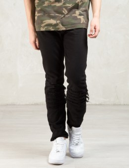 PHENOMENON Black 5 cut Denim Jeans Picture