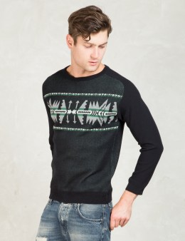 Discovered Black L/S Chimayo Sweater Picture