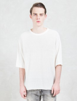 FACTOTUM S/S Cheen Knit Sweater Picture