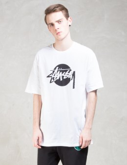 Stussy Circle Stock T-Shirt Picture