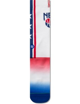 Stance NJ Nets Socks Picture