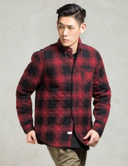 The Hundreds Red Madison Jacket Picture