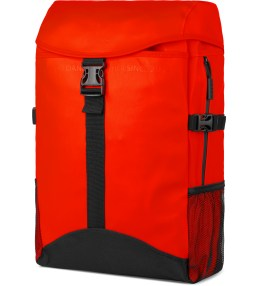 RAINS Orange Runner Backpack Picture