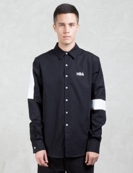 Hood By Air. Poplin Nihilism L/S Shirt Picture
