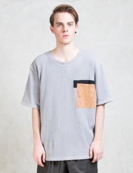 Christopher RAEBURN Cork Pocket Oversized T-shirt Picture