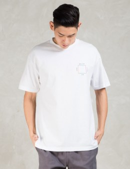 The Quiet Life White Square T-shirt Picture