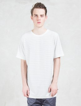 i love ugly. Fine Stripe S/S T-shirt Picture
