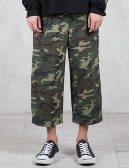 PHENOMENON Camo 9/10 Length Wide Pants Picture