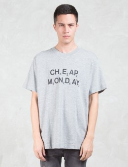 Cheap Monday Chemical Logo T-Shirt Picture
