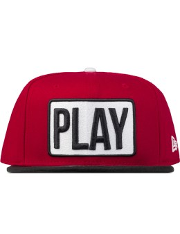 Play Cloths Red Work Snapback Picture