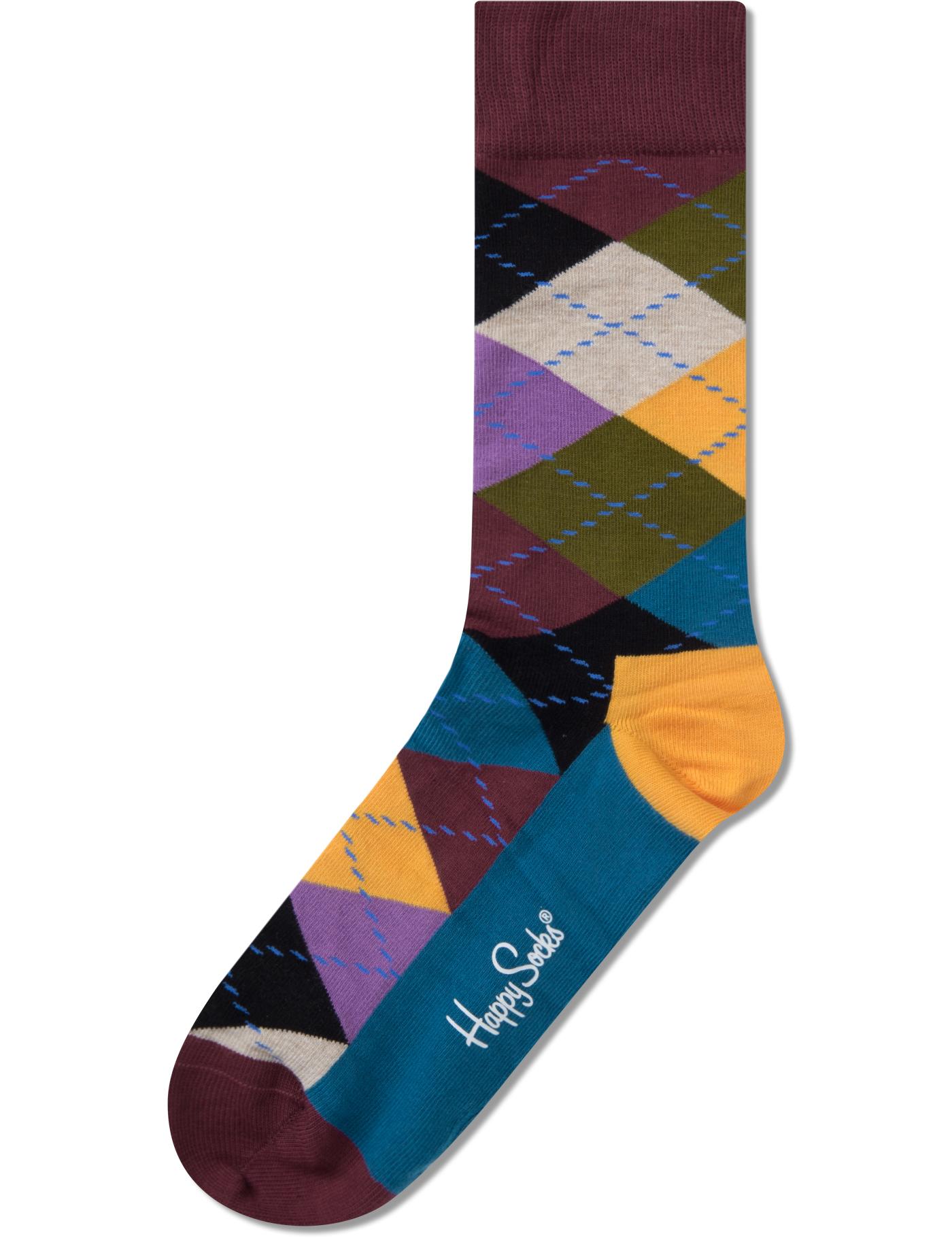 Happy Socks Argyle Socks | HBX.