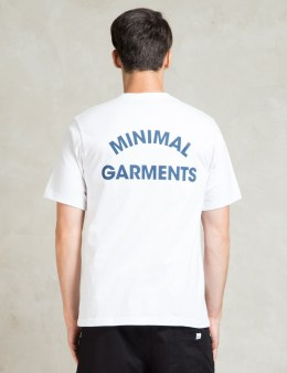 LIFUL White Arch Logo Pocket T-Shirt Picture