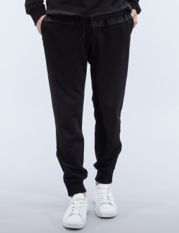 D BY D Coated Fabric Jersey Pants Picture