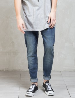 Cheap Monday Indigo Bleed Dropped Jeans Picture
