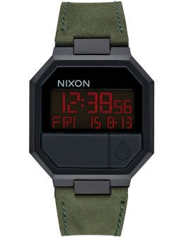 Nixon Re-Run Leather with All Black Case Picture