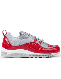 "NIKE Nikelab Air Max 98 X Supreme ""Red"" Picture"