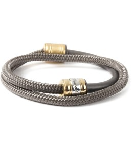 Miansai Solid Charcoal Half-Rope Bracelet Picture