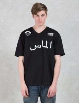 Black Scale Black Scale X Diamond Supply Co. Blvck Diamond Football Jersey Picture