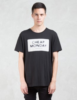 Cheap Monday Standard Nuclear Logo T-Shirt Picture