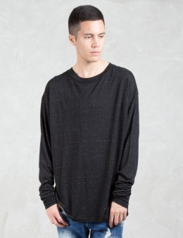REPRESENT Clothing Speckle Long Sleeve T-Shirt Picture