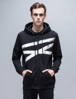 NONAGON Cracked IX Zip Up Hoodie Picture