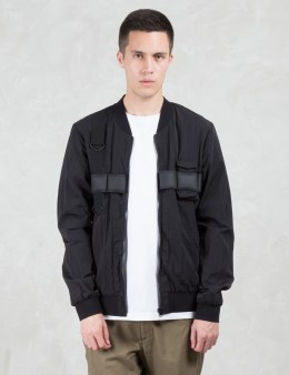 LETASCA Elastic Detail Tapered Bomber Picture