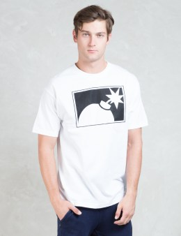 The Hundreds White Forever Half Bomb T-Shirt Picture