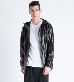 RAINS Black Ripples Breaker Jacket Picture