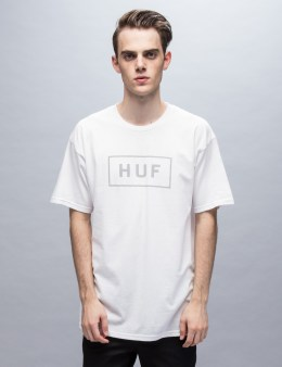 HUF Reflective Bar Logo S/S T-Shirt Picture