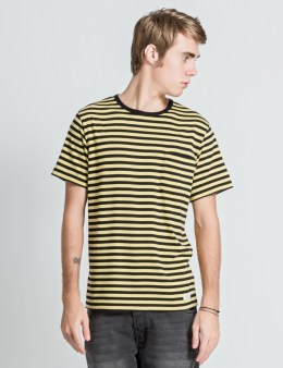 "DELUXE Yellow/Black ""Andrew"" T-Shirt Picture"
