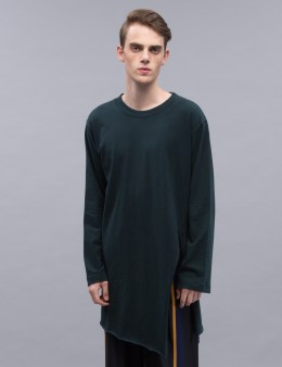 BED J.W. FORD Slit Sleeve T-Shirt Picture