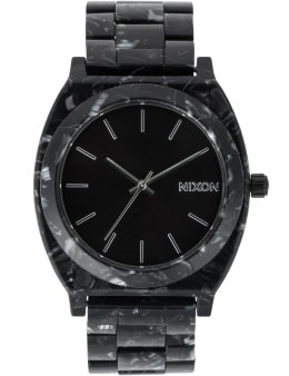 Nixon Black/Silver/Multi Time Teller Acetate Watch Picture