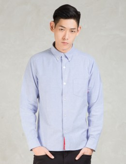 FUCT SSDD Blue Ssdd Oxford Shirt Picture