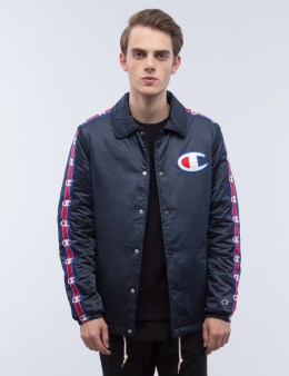 Champion Reverse Weave Side Logo Coach Jacket Picture
