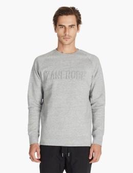 ZANEROBE Grey Foam Crewneck Sweatshirt Picture