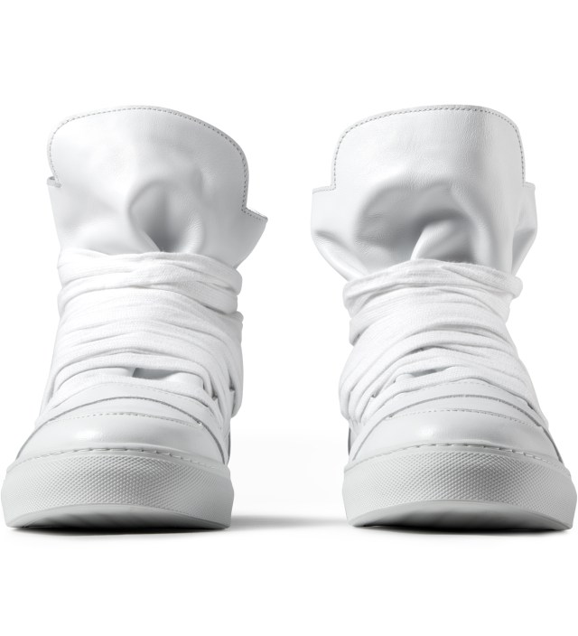 KRISVANASSCHE White Multi Laces Sneakers